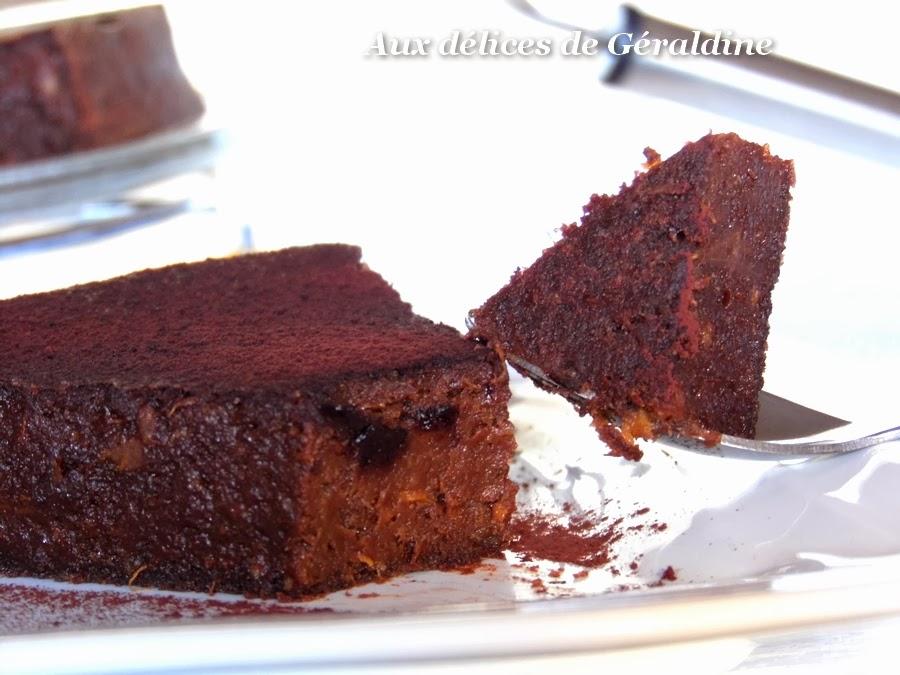 Aux Delices De Geraldine Fondant Au Chocolat A La Patate Douce