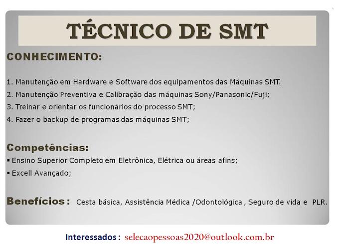 TÉCNICO DE SMT