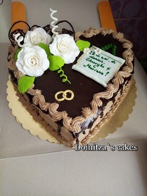 Tort Nunta De Argint Doinitzas Cakes