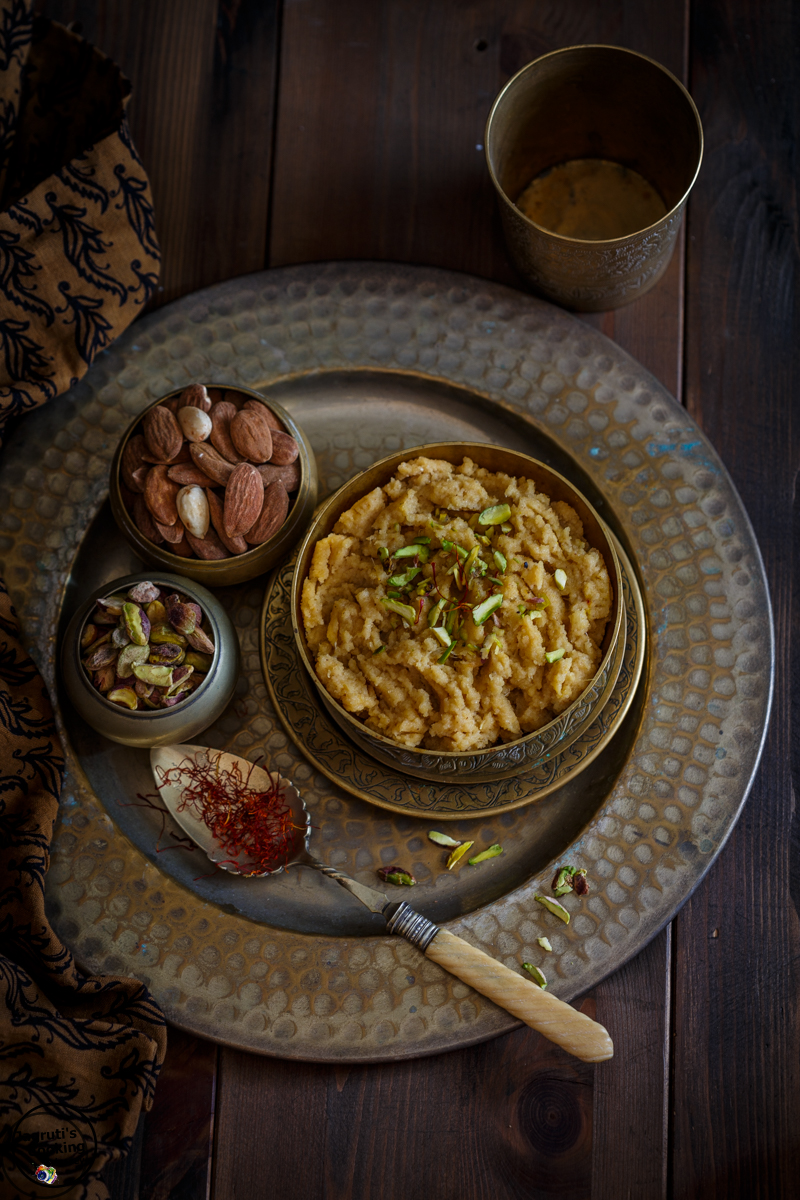 Almond-Coconut-and-Pineapple-halwa-Jagruti's-Cooking-Odyssey
