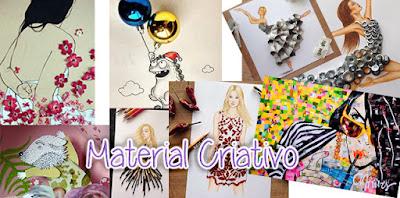 Material Criativo Guia Para Iniciantes - Material de Desenho