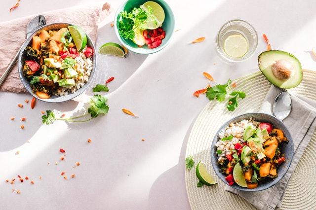 Chickpea Salad, avocado salad, vegetarian salad recipe, vegetarian food