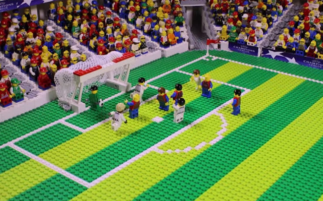 Lego revive la Final de Champions 2015