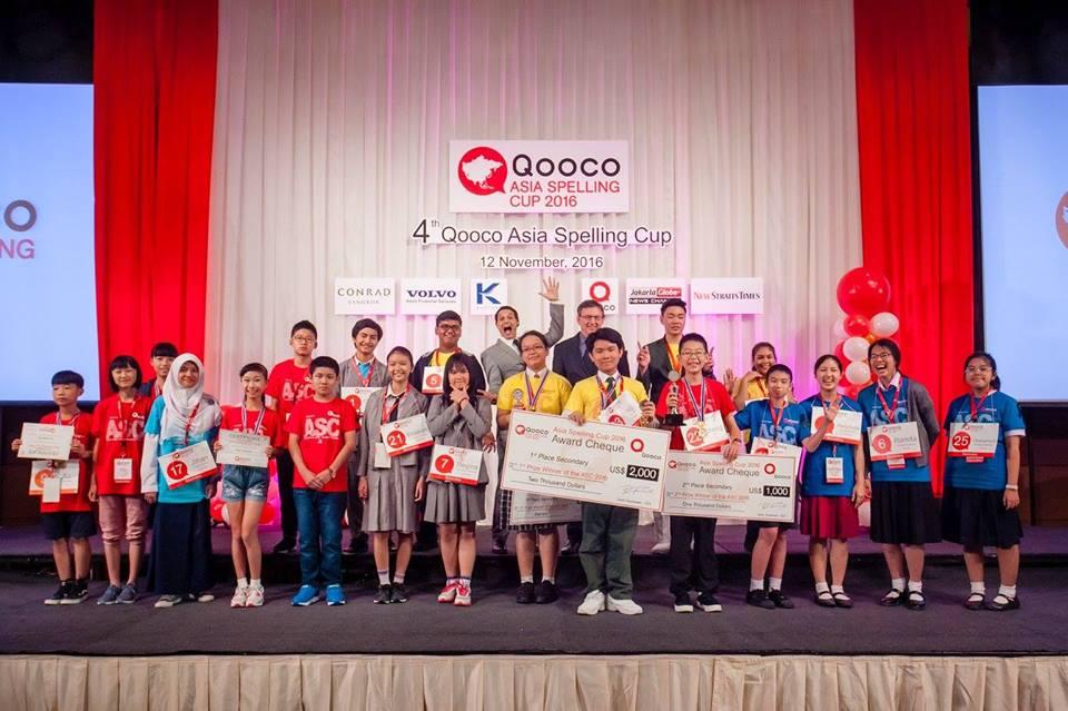 IP-KKCS Mengikuti 4th Asia Spelling Cup 2016