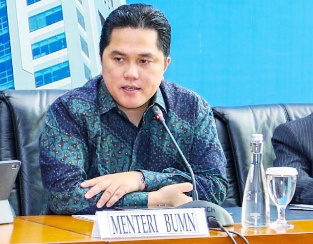 Erick Thohir di Tunjuk Menjadi Ketua Pelaksana Pemulihan Ekonomi dan Gugus Tugas Penanganan Corona