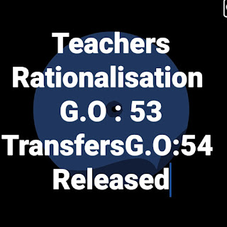 AP Teacher Transfers ,Rationlisation Guidelines