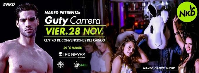 Guty Carrera en Arequipa - 28 de noviembre