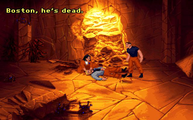 The Dig Captura de pantalla 8