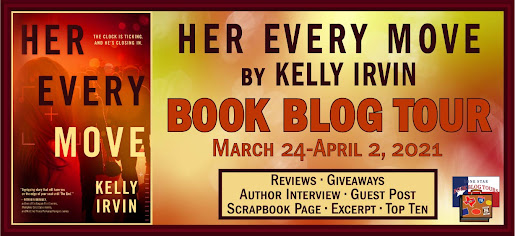 Her Every Move book blog tour promotion banner