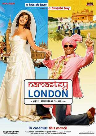 Namastey London 2007 Full Hindi Movie Download BRRip 720p ESub