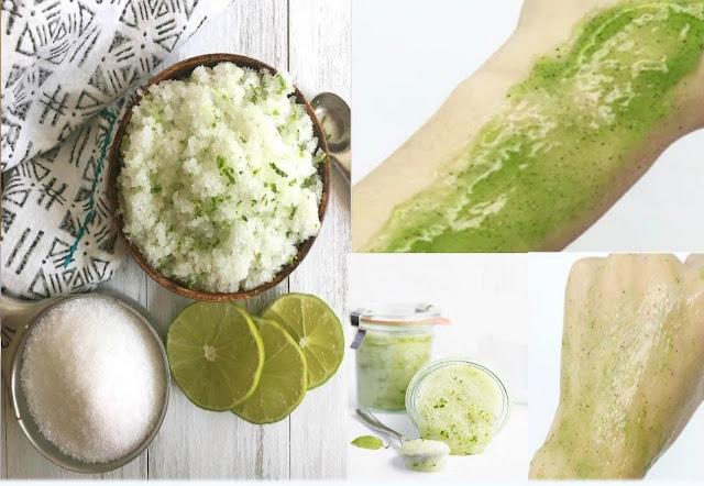 Une recette de gommage à base de la menthe pour nettoyer le corps
