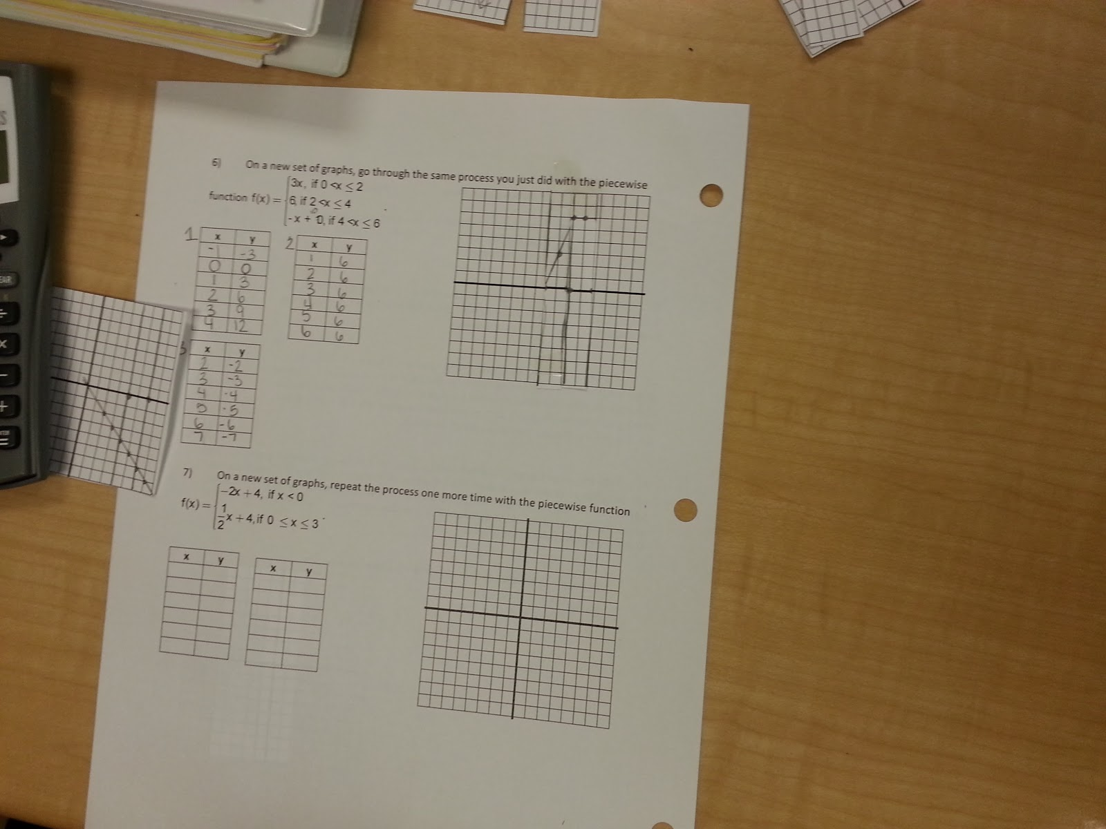 Piecewise Functions An Old Math Dog Learning New Tricks
