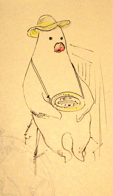 Un personnage inconnu au Musée Ghibli - Mitaka, Japon