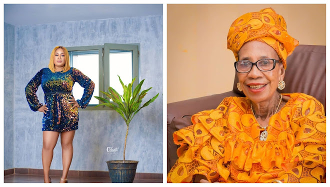 This is literally a hard blow for me- Actress Sindodo mourns as she loses her mom