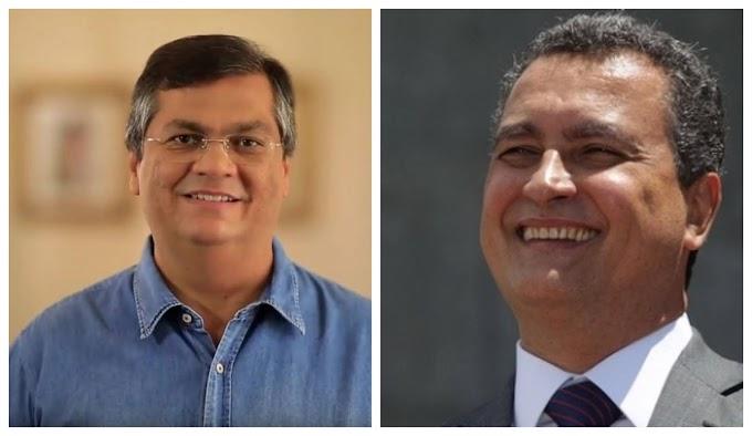 Governadores comunistas do Maranhão e da Bahia acionam STF para apagar posts de Bolsonaro sobre repasses federais