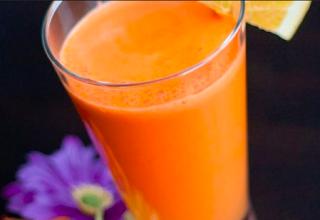 Orange Juice Gellan Gum Beverage