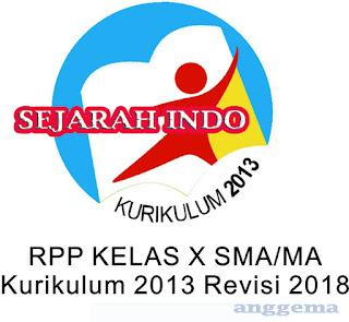 RPP  K13 Sejarah Indonesia Kelas 11 SMA/SMK Revisi 2018
