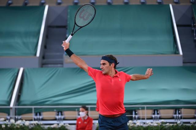 Roger Federer perdeu seu primeiro set, mas segue firme em Roland Garros