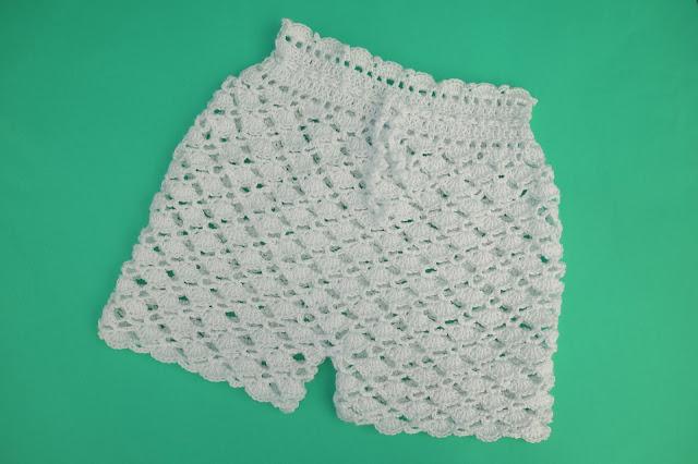 3-Crochet Imagen Pantalón a conjunto con camisa de verano a crochet y ganchillo por Majovel Crochet
