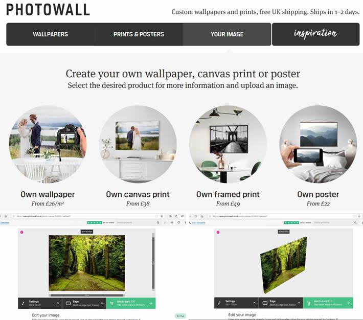 Photowall Custom Canvas Print