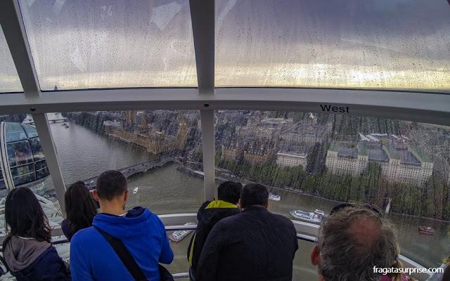 Londres: passeio na roda gigante do London Eye