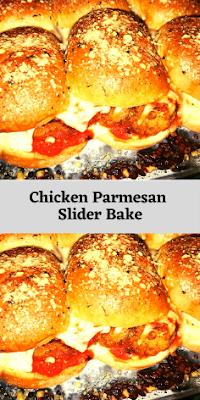 Chicken Parmesan Slider Bake