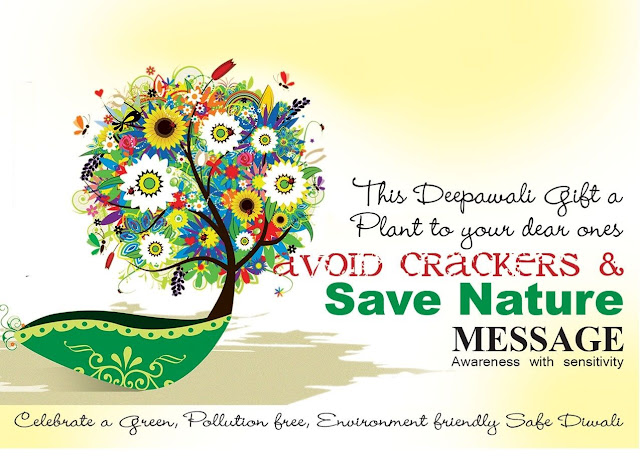 Noise Free Eco-friendly Diwali Wishes, & Quotes