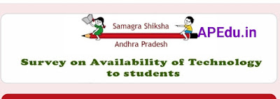 Proforma for Survey on availability of technology to Students in AP Government schools