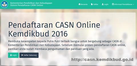 Daftar Tempat Uji Kompetensi CASN GGD Kemendikbud 2016