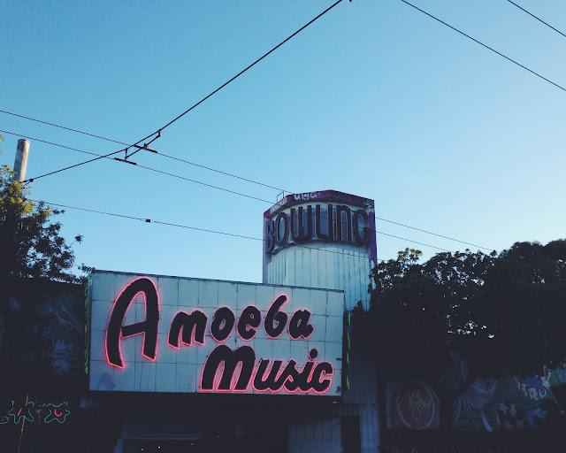 Amoeba Music in Haight Ashbury in San Francisco