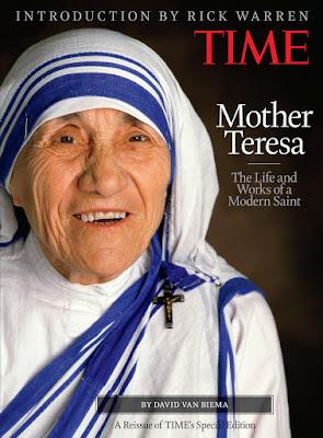 BEZA MOTHER TERESA DENGAN MAHATMA GANDHI