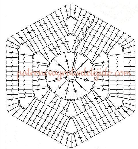 como-tejer-hexagono-gancho