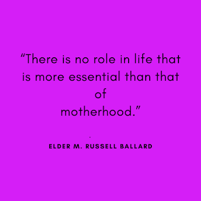 Mothers day wishes quotes images by Elder M. Russell Ballard