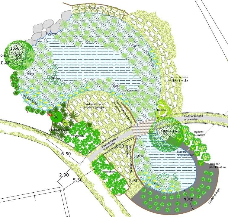 Laghetto di san carlo seregno le mappe e il progetto for Immagini di laghetti artificiali