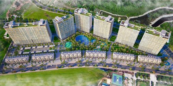 Quy hoạch tổng thể căn hộ trong dự án Hồ Tràm Complex của Hưng Thịnh Land