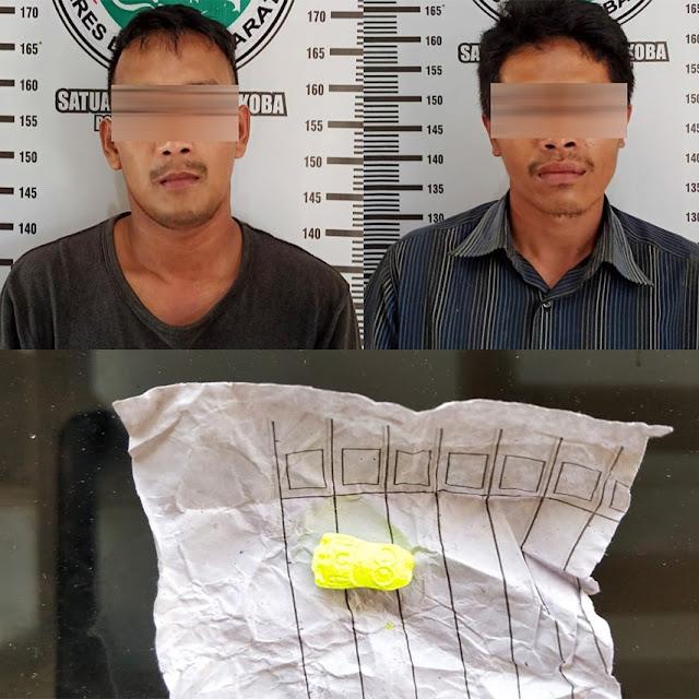 Usai Beli Ekstasi di Sumsel, Dua Pemuda Ditangkap Polisi