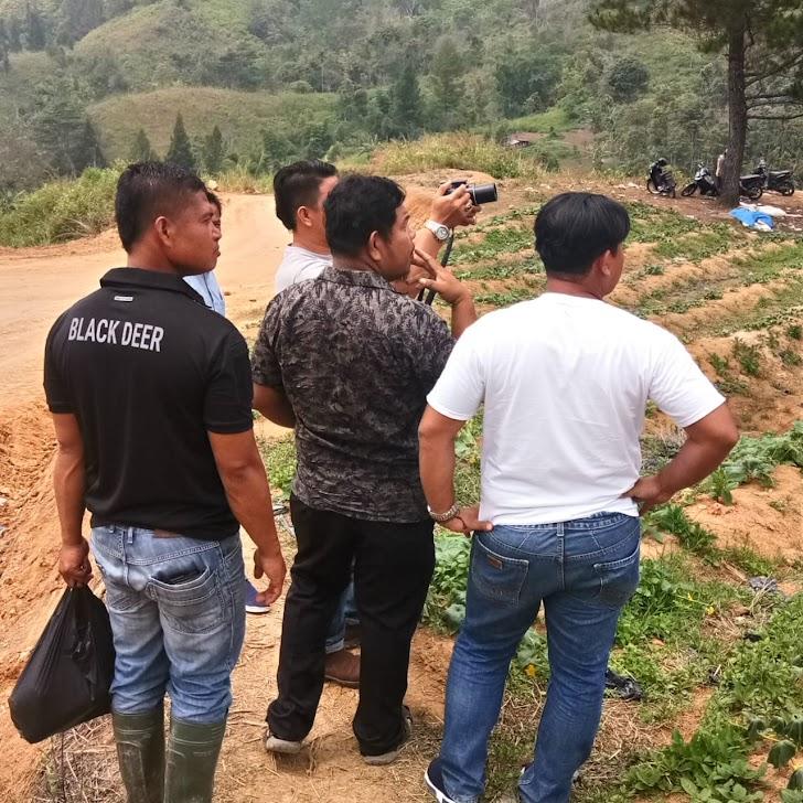 Gara gara TMMD,Bukit Pematang Gelanggang Jadi Lokasi Wisata Dadakan