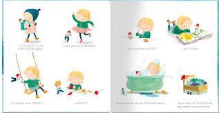 Blick ins Buch An Swerts - Frida und Wuschel. Ein ganz besonderer Geburtagswunsch