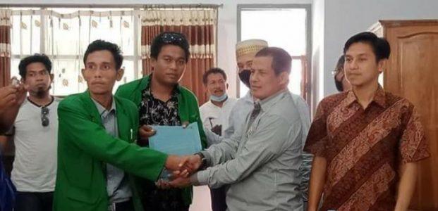 Viral Foto Tidak Senonoh Ketua DPRD Bima, BEM STIH Lapor Desak Ketua DPRD Dipecat