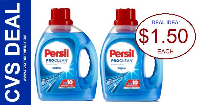 Persil Detergent CVS Coupon Deal 5-17-5-23