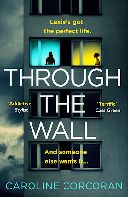 Through the Wall by Caroline Corcoran book cover