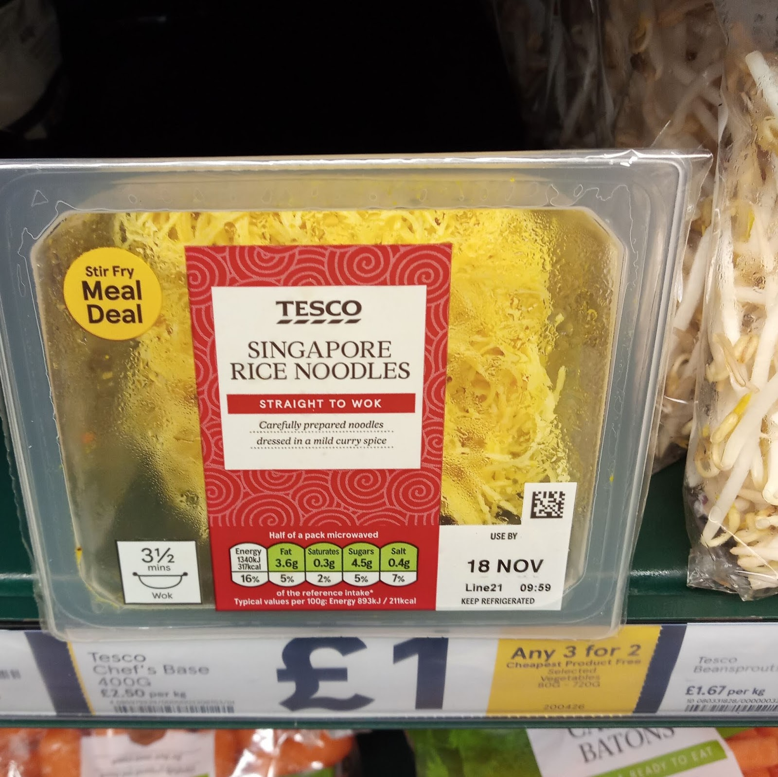 Supersupergirls Food Reviews Review Tesco Rice Noodles