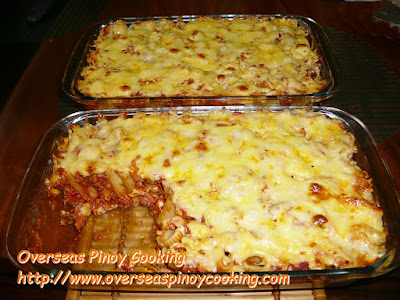Baked Rigatoni Pinoy Style Cooking Method