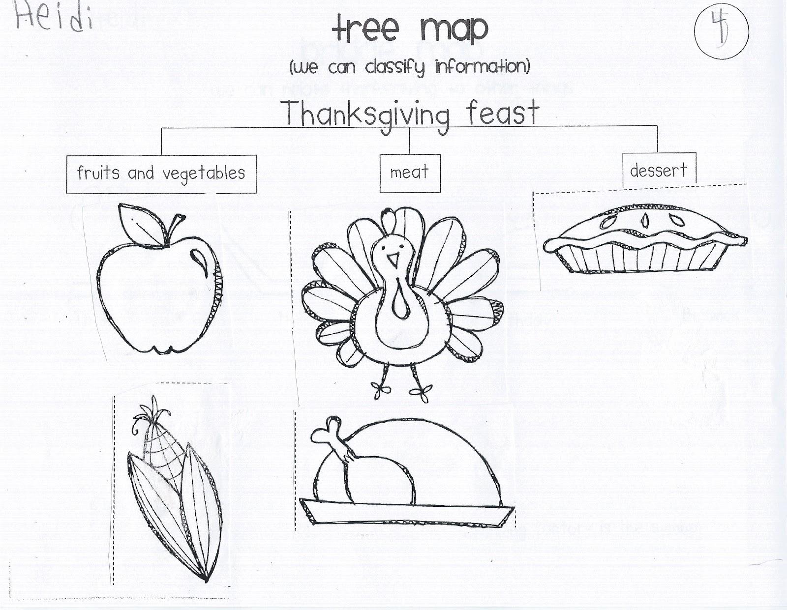 My Crazy Life In Kindergarten November Thanksgiving Book