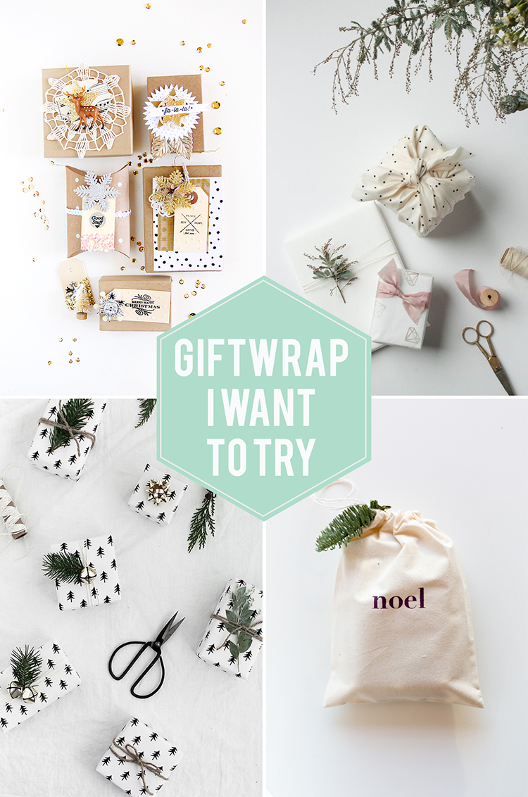 Gift Wrap I Want to Try