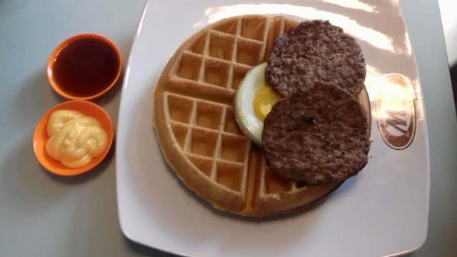 All Day Breakfast Waffles Restoran A&W