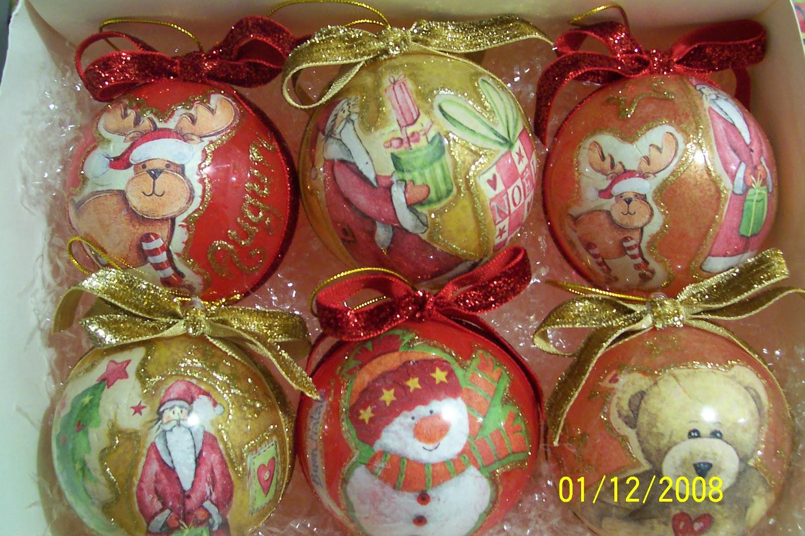 Lavoretti Di Natale Scuola Primaria Decoupage.Creativa Per Passione 1 Mese A Natale