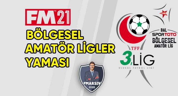 fm 2021 türkiye amatör ligler yaması