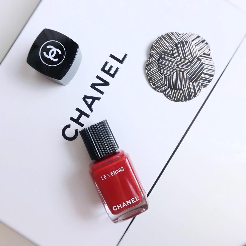 Chanel Le Vernis Anthurium swatch