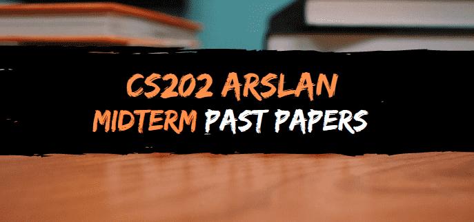 cs202 arslan